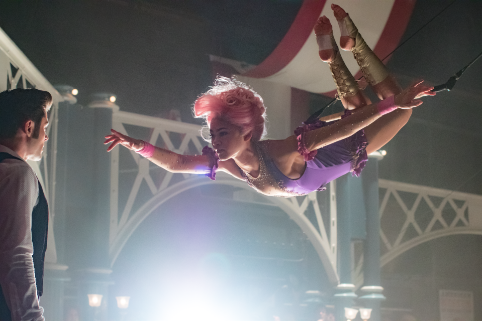 Zendaya and Zac Efron in The Greatest Showman (20th Century Fox)