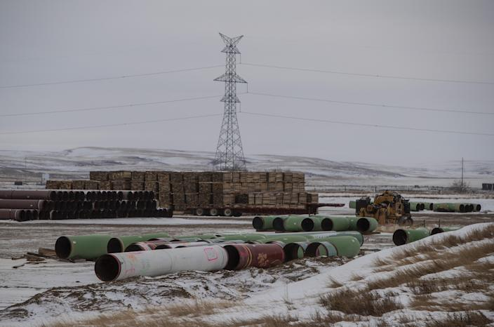 Pipes for the Keystone XL