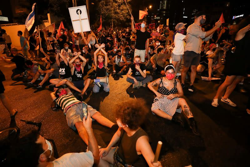 Israeli minister quits government over COVID-19 curbs on protests