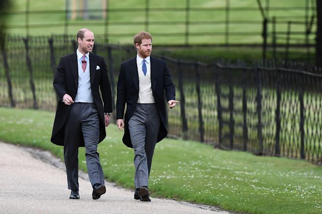 Prince Harry was Prince William's best man in 2011 but will he return the favor next year? (Photo: Getty Images)