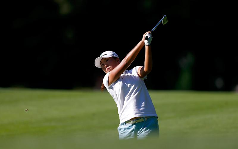 Golf - South Korea's Kim leads Portland Classic