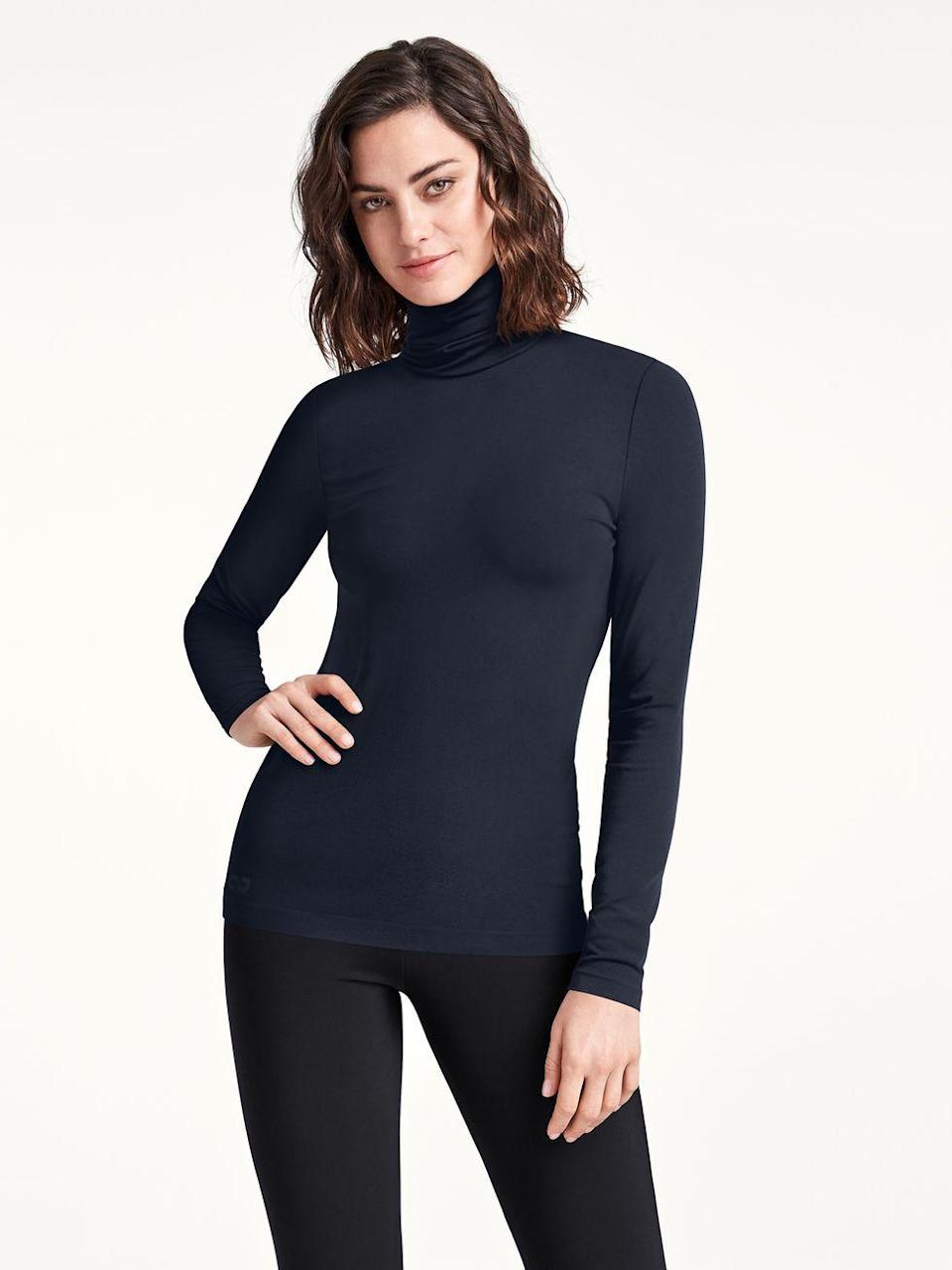 """<p>If there's one thing we're familiar with during the pandemic, it's working from home in our most comfortable styles - that means anything with stretch. </p><p>Wolford, the go-to brand for basics including shapewear and leggings, long before Kim K came along with SKIMS, is now even more desirable thanks to its commitment to sustainability. </p><p>It's the first and only company in apparel and textiles to hold two certificates stating they are Cradle to Cradle Certified™ at gold level. (That means it's legit.) Its recently launched Aurora collection, available via its website and <a href=""""https://www.net-a-porter.com/en-gb/shop/designer/wolford"""" rel=""""nofollow noopener"""" target=""""_blank"""" data-ylk=""""slk:Net-a-Porter"""" class=""""link rapid-noclick-resp"""">Net-a-Porter</a>, is made of biodegradable fabrics. But, that being said, the styles are also so timeless and well-made that you'll be wearing them for decades. </p><p><a class=""""link rapid-noclick-resp"""" href=""""https://www.net-a-porter.com/en-gb/shop/designer/wolford"""" rel=""""nofollow noopener"""" target=""""_blank"""" data-ylk=""""slk:SHOP WOLFORD NOW"""">SHOP WOLFORD NOW</a></p>"""