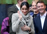 <p><strong>When: Jan. 9, 2018</strong><br>As part of their second royal engagement together (and first of 2018) Meghan Markle and her husband-to-be Prince Harry visited a youth-oriented radio station in Brixton, London, on Tuesday. The royal couple met with representatives from Reprezent FM, an organization that trains young people under the age of 25 in radio broadcasting and with employment skills. <em>(Photo: Getty) <strong>Click through for more. </strong></em> </p>