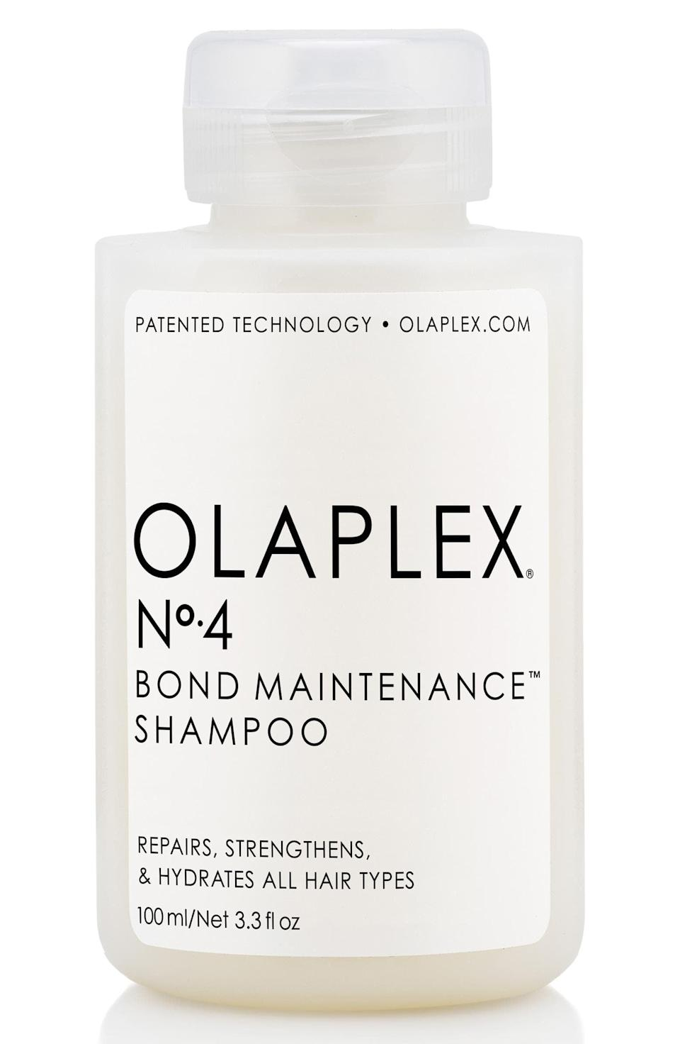 <p>While some shampoos and conditioners offer ingredients to <em>boost</em> color-treated hair, another important thing to consider is whether or not the products are color-safe while also building back the bonds broken during the chemical process. The popular <span>Olaplex No. 4 Bond Maintenance Shampoo</span> ($28) does exactly that. It works well for people who want to keep hair as strong, protected, and frizz-free as possible, while also safeguarding its color.</p>
