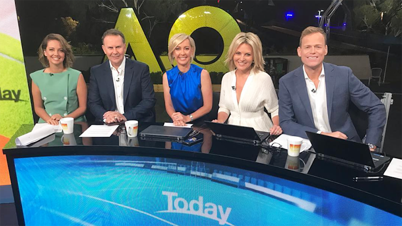 Tony Jones is leaving the Today show after less than a year. Photo: Channel Nine