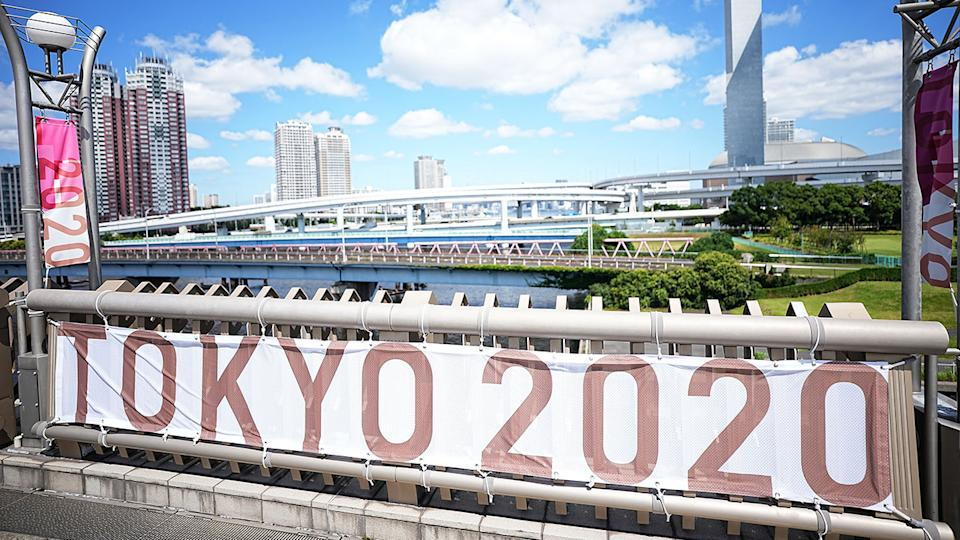 The Tokyo Games have been rocked by a number of Covid-19 cases less than one week before the global showpiece gets underway. Pic: Getty