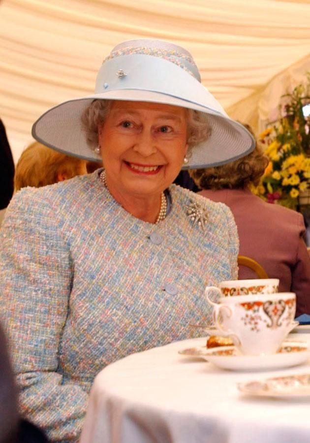 The Queen likes to start her day with a cup of tea. Photo: Getty