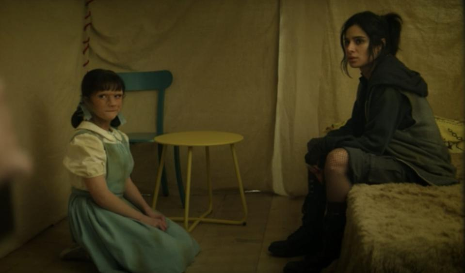 """Dorothy tells Jane about her imaginary friends on the season two premiere of """"Doom Patrol."""""""