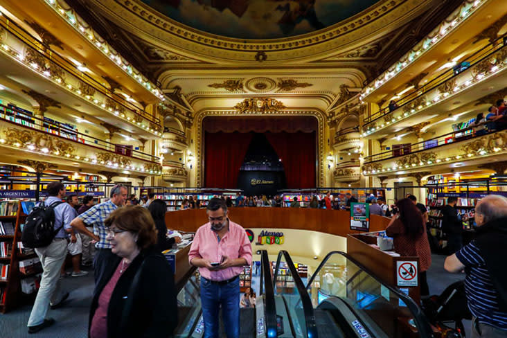 "El Ateneo Grand Splendid in Buenos Aires was named the ""world's most beautiful bookstore"" by 'National Geographic'. — Pictures by CK Lim"