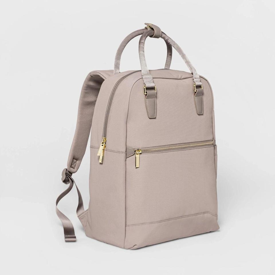 <p>The <span>Open Story Commuter Backpack</span> ($50) is a stylish find that will be put to use. Whether they have to run across campus for their next class or need a chic new bag for their first day of work, this backpack is a must.</p>