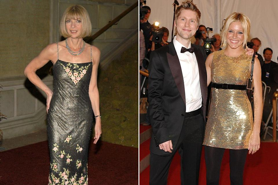 <p><strong>The theme: </strong>AngloMania: Tradition and Transgression in British Fashion </p> <p><strong>The co-chairs: </strong>Anna Wintour, Christopher Bailey and Sienna Miller </p> <p><strong>Honory chairs: </strong>Rose Marie Bravo and Peregrine Cavendish, Duke of Devonshire</p>