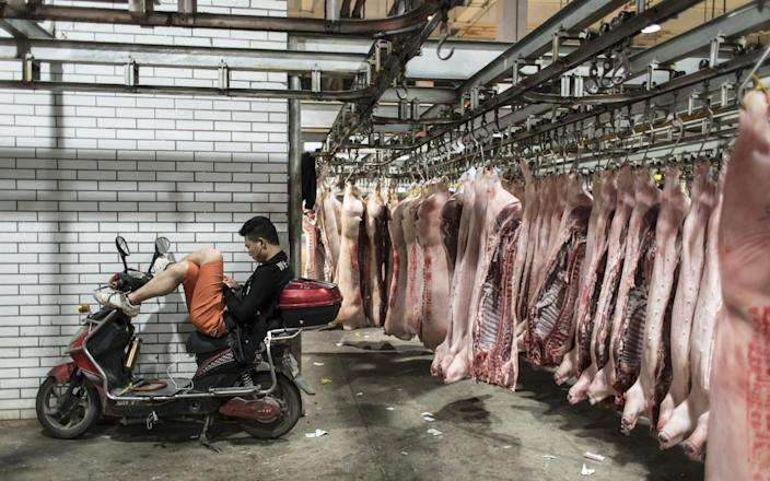 Gangs have been targeting pig farms in China in an effort to profit from an African swine disease crisis - Bloomberg