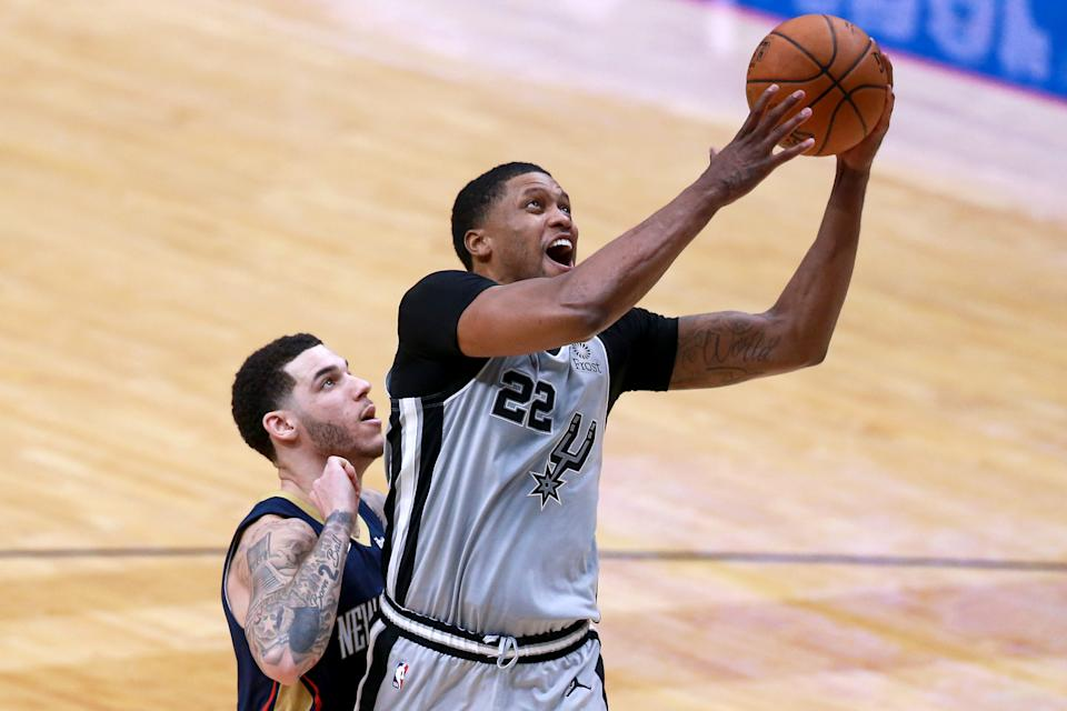 Rudy Gay with the Spurs.