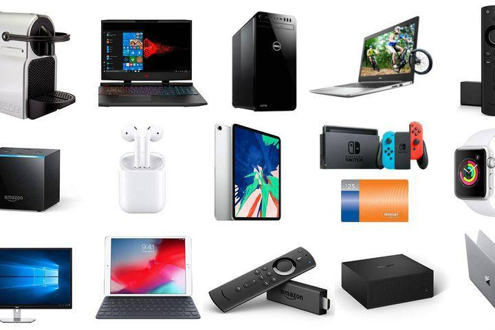 Dell and HP Laptops, XPS Desktop, Apple Watch, Fire TV