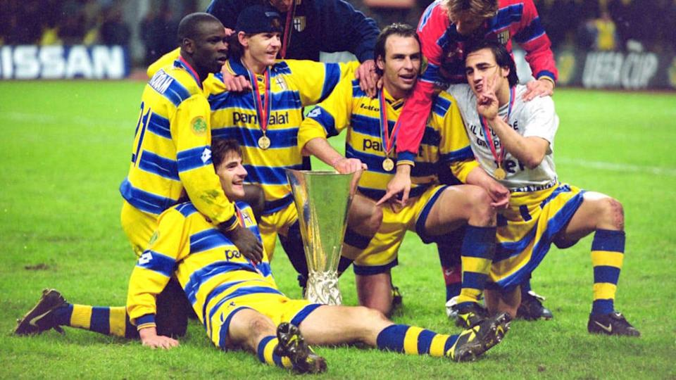 Parma v Olympique Marseille - UEFA Cup Final | Etsuo Hara/Getty Images