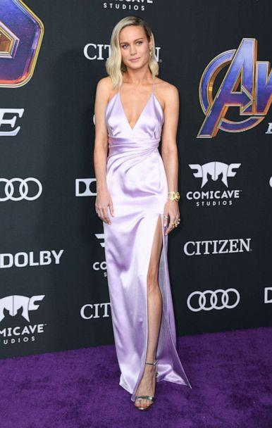PHOTO:Brie Larson arrives for the World premiere of Marvel Studios' 'Avengers: Endgame' at the Los Angeles Convention Center on April 22, 2019 in Los Angeles. (Valerie Macon/AFP/Getty Images)