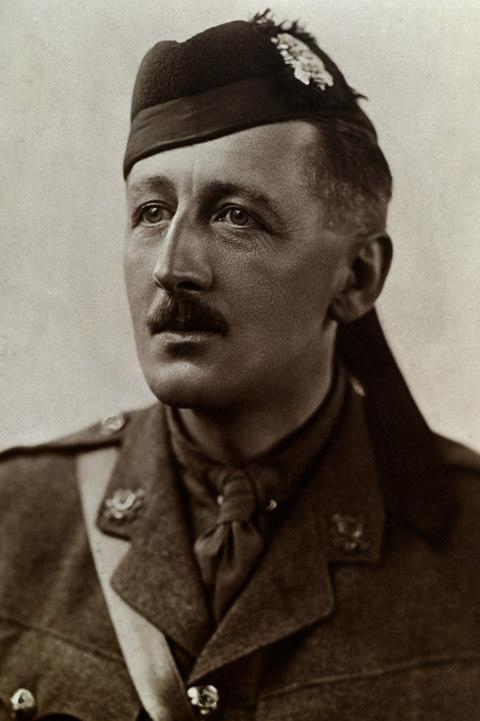 Lieutenant Colonel Bertie Anderson, the last of the brothers to die in the First World War - Credit: CHRISTOPHER COX ©️LORD ASHCROFT