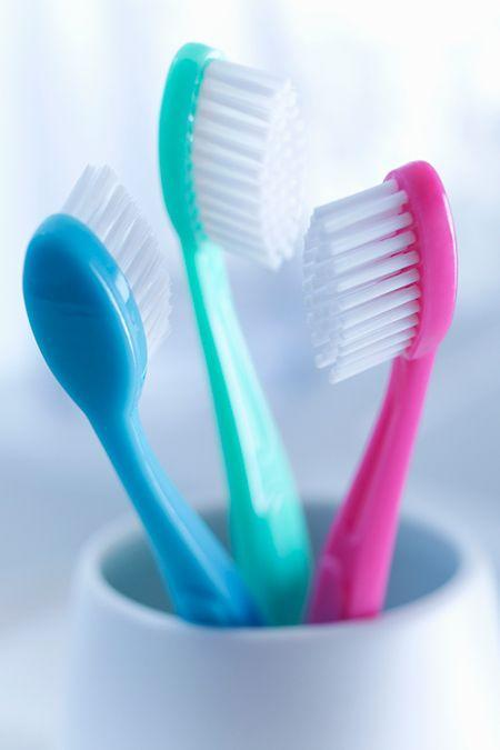 """<p>For <a href=""""https://www.goodhousekeeping.com/home/cleaning/tips/a32797/toothbrush-storage-mistakes/"""" rel=""""nofollow noopener"""" target=""""_blank"""" data-ylk=""""slk:guests and after sicknesses"""" class=""""link rapid-noclick-resp"""">guests and after sicknesses</a>, <a href=""""http://dollartree.com"""" rel=""""nofollow noopener"""" target=""""_blank"""" data-ylk=""""slk:Dollar Tree"""" class=""""link rapid-noclick-resp"""">Dollar Tree</a> offers name-brand brushes like Colgate for nearly a third of the price of others. </p>"""
