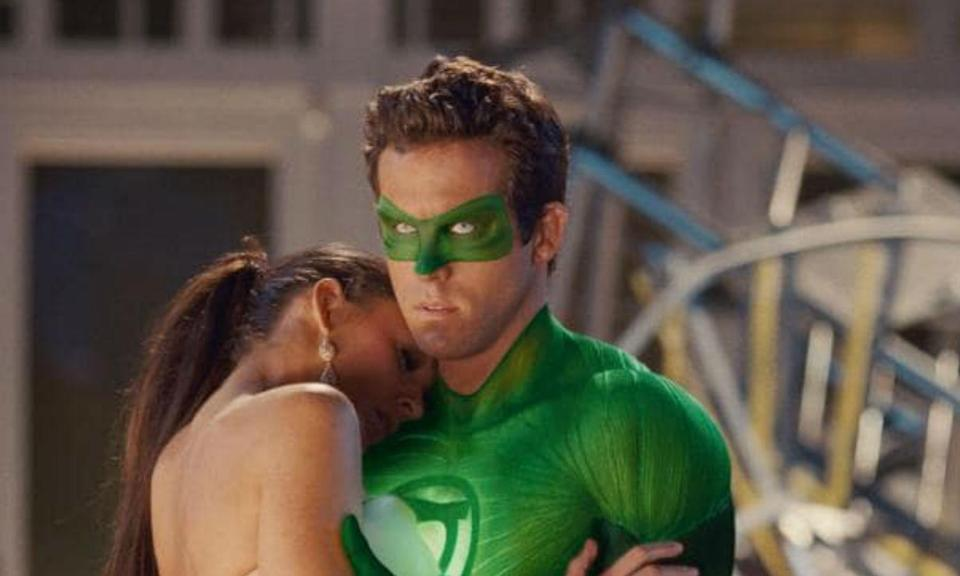 <p>Ryan Reynolds was married to Scarlett Johansson during the filming of Green Lantern in 2010 but there had reportedly been trouble in their relationship before then. He met Blake Lively, who was dating her Gossip Girl co-star Penn Badgley, and the pair got on like a house on fire while shooting the DC film. Within a few months of each other, in the same year, Blake and Penn had split and Scarlett and Ryan had confirmed they were divorcing. By the end of 2011, Reynolds and Lively were a couple. </p>
