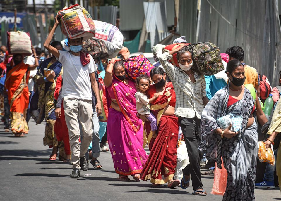 <strong>Migrant crisis: </strong>In a horrific incident, on May 9, 16 migrants were killed when a goods train ran over them near Aurangabad in Maharashtra. Thousands of migrant workers in India, who were marooned wherever they were working, due to the sudden lockdown in the country, have been walking to their native villages. Despite government guidelines, these daily-wagers who have lost their jobs have defied the rules to be with their families. The central and the state governments have been unsuccessful in providing food, shelter and transport for many of these migrants.