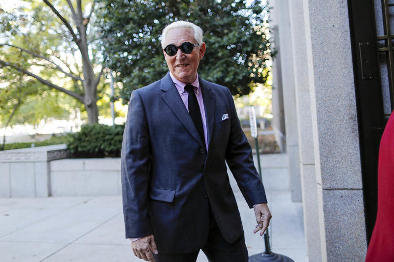 Judge: No Godfather clip for Stone trial