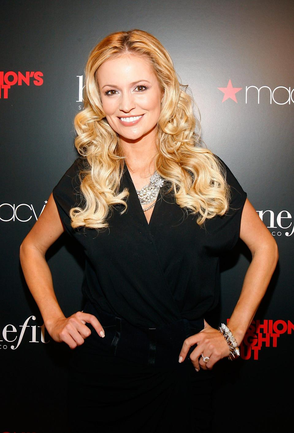 """Former """"Bachelorette"""" star Emily Maynard opened up about having a Bell's palsy relapse while she was pregnant with her fifth child this fall."""