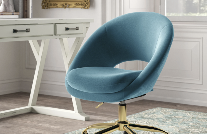 Shoppers are loving this chic and comfy chair.