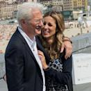 """<p><strong>Age gap: </strong>33 years </p><p>Despite the three-decade gap between these two, they're """"extraordinarily happy"""" together, a source tells <a href=""""http://people.com/movies/richard-gere-marries-spanish-girlfriend-alejandra-silva-theyre-extraordinarily-happy/"""" rel=""""nofollow noopener"""" target=""""_blank"""" data-ylk=""""slk:People"""" class=""""link rapid-noclick-resp""""><em>People</em></a>. The couple got married in April 2018.</p>"""