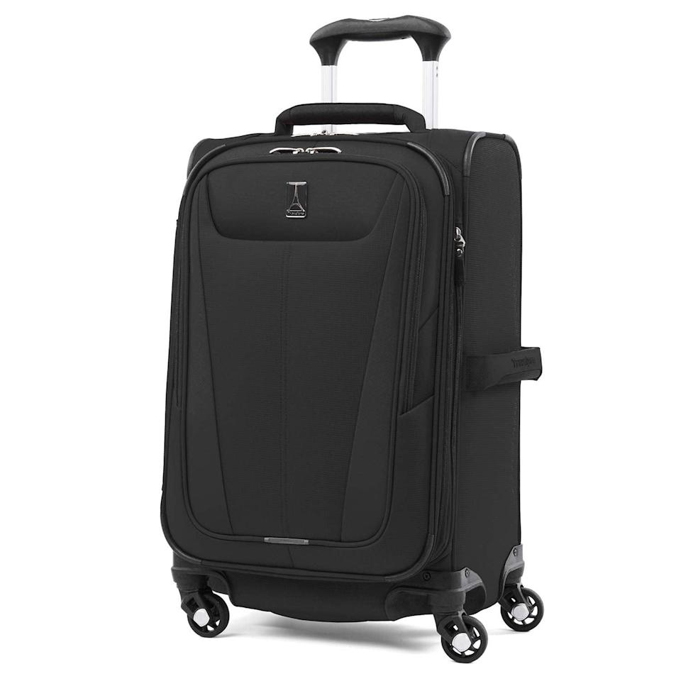 <p>This <span>Travelpro Luggage Maxlite 5 Lightweight Expandable Suitcase</span> ($127, originally $150) is one of the lightest suitcases on Amazon, at only 5.4 pounds. Plus, it's got lots of pockets and compartments for storage.</p>