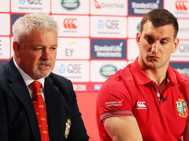Gatland named his 41-man squad on Wednesday: Getty