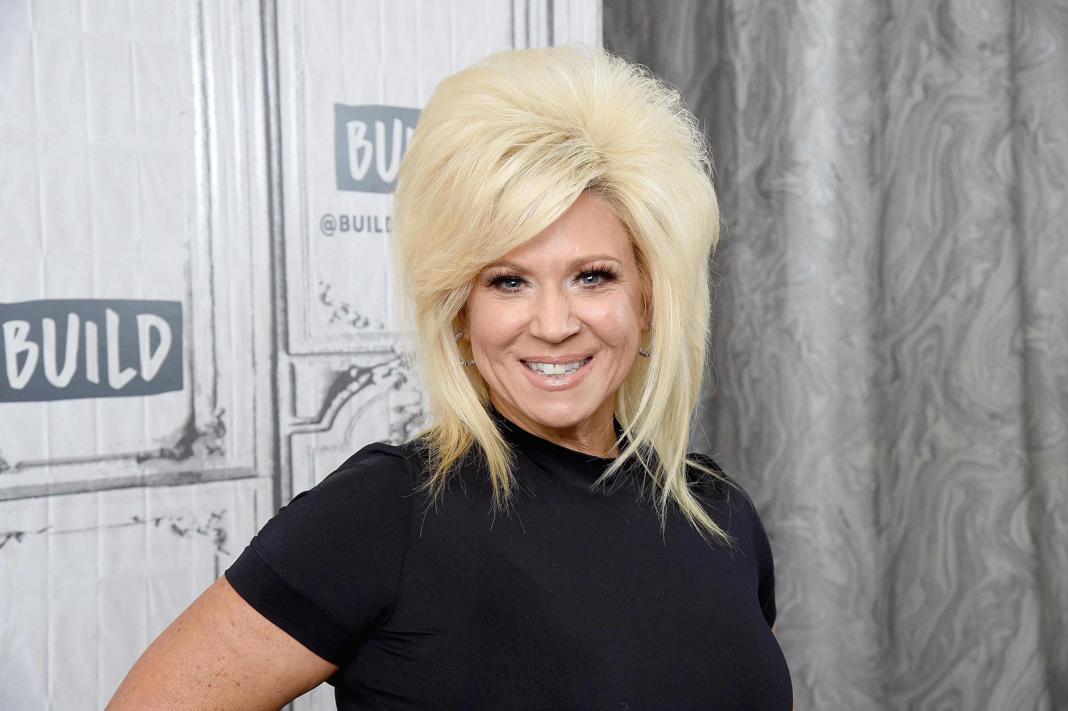"Host of the TLC reality series ""Long Island Medium,"" Theresa Caputo, in New York City on Oct. 15, 2019. (Photo: Gary Gershoff/Getty Images)"