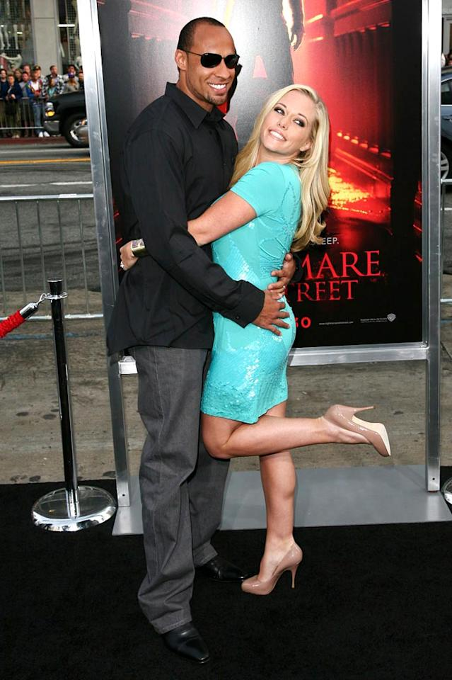 "Former ""Girls Next Door"" starlet Kendra Wilkinson scored herself an NFL player hubby -- Minnesota Vikings wide receiver Hank Baskett. <a href=""http://www.splashnewsonline.com"" target=""new"">Splash News</a> - April 27, 2010"