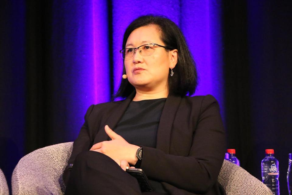 Ming Long says she had to become an extrovert in order to climb the corporate ladder in Australia. (Source: Supplied)