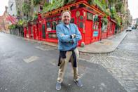 "Tom Cleary owns the Temple Bar which lends its name to Dublin's famed ""Temple Bar"" drinking district"