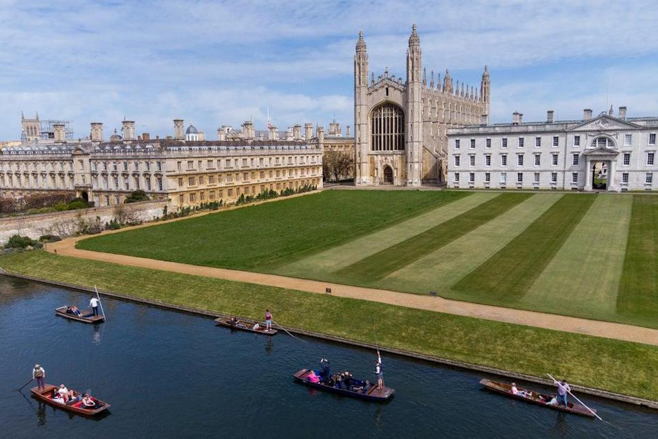 King's College in Cambridge. Students from state schools will have a chance to try out student life (PA) (PA Wire)