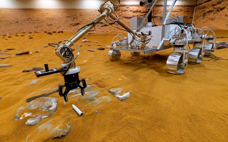 The Mars Sample Return rover will collect capsules left by NASA - Geoff Pugh