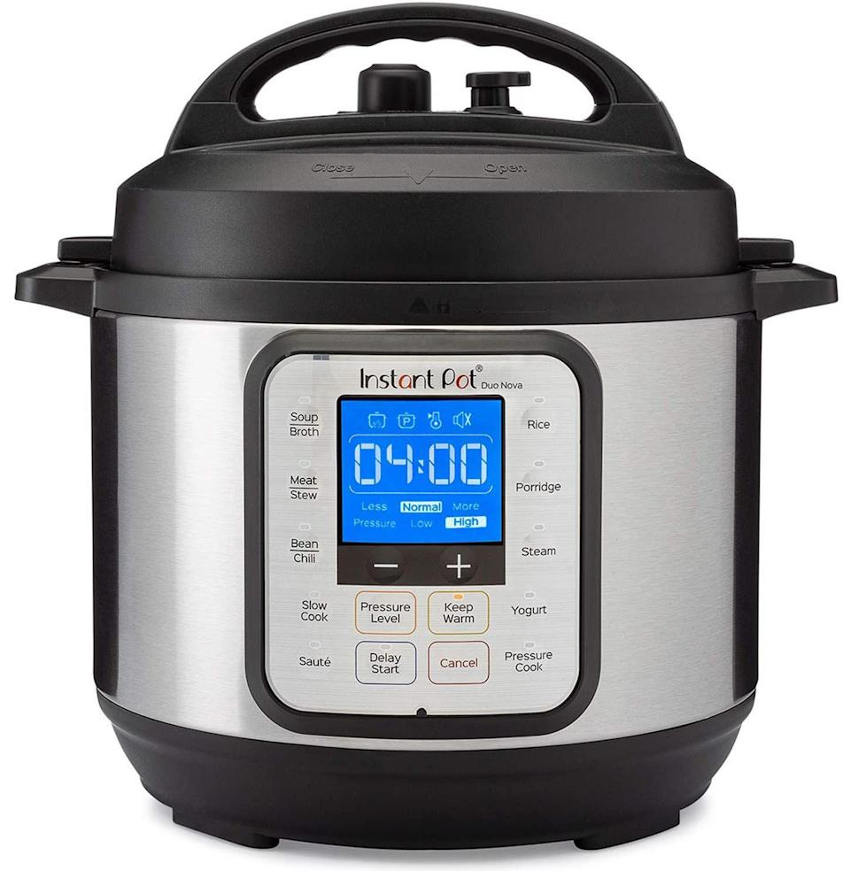 """<p><strong>Instant Pot</strong></p><p>amazon.com</p><p><strong>$49.95</strong></p><p><a href=""""https://www.amazon.com/dp/B07R6V1MXW?tag=syn-yahoo-20&ascsubtag=%5Bartid%7C10054.g.36716381%5Bsrc%7Cyahoo-us"""" rel=""""nofollow noopener"""" target=""""_blank"""" data-ylk=""""slk:Buy"""" class=""""link rapid-noclick-resp"""">Buy</a></p><p><strong>Save 38% with Prime</strong></p><p>It wouldn't be Prime Day without an Instant Pot deal.</p>"""