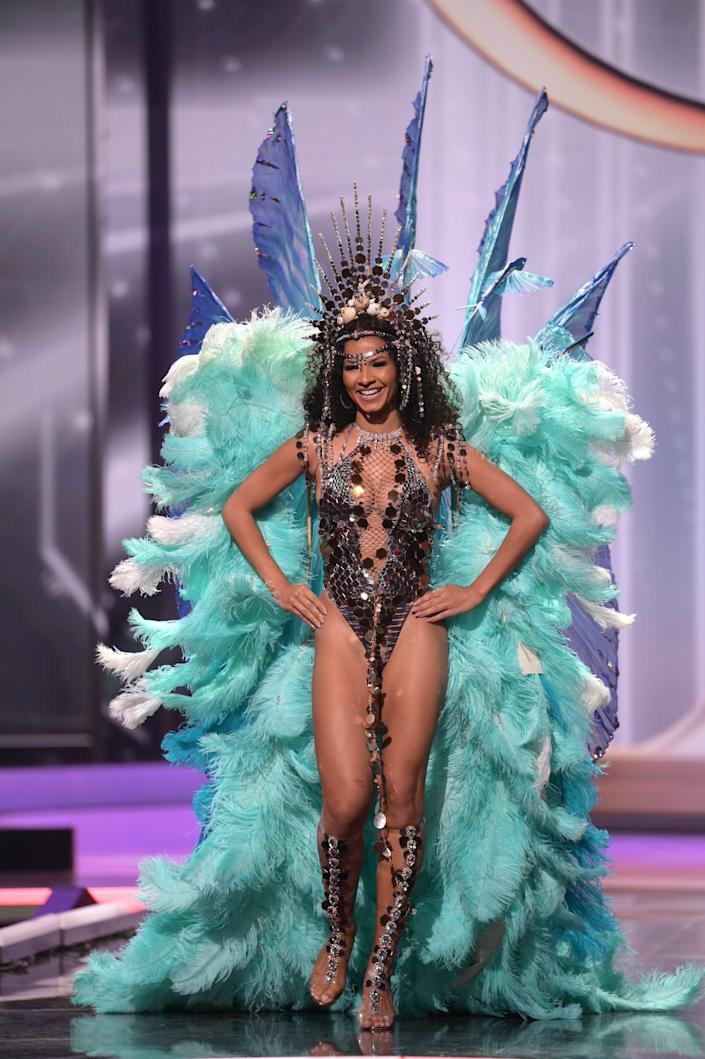 Miss Barbados National Costume Show 2021