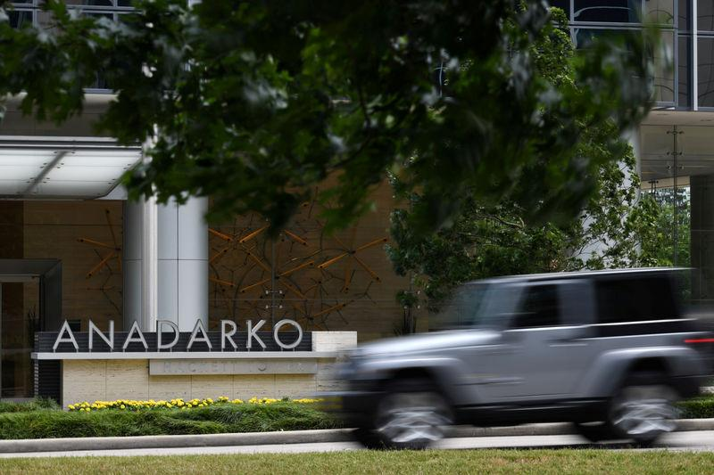 FILE PHOTO: Anadarko Petroleum Corporation is seen in The Woodlands