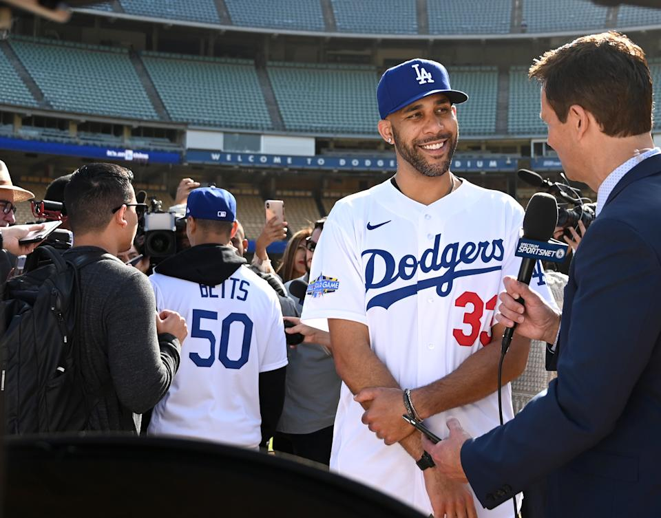 Dodgers pitcher David Price speaks out about 2020 season after opting out. (Photo by Jayne Kamin-Oncea/Getty Images)