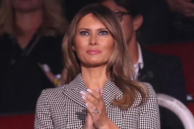 "First lady Melania Trump called a librarian who rejected her gift of Dr. Seuss books ""divisive."" (Photo: Getty Images)"