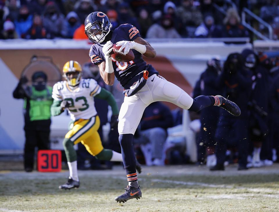 Chicago Bears receiver Cameron Meredith (81) signed an offer sheet with the Saints. (AP)