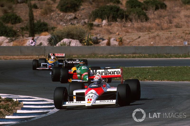"Alain Prost - McLaren MP4 / 4-Honda - GP de España 1988<span class=""copyright"">Sutton Motorsport Images</span>"