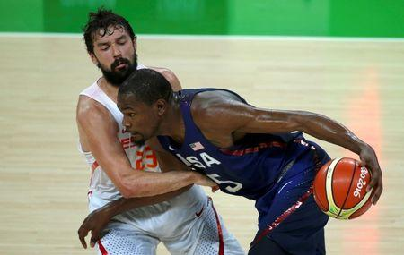 f52708f2436 Basketball  U.S. down Spain to reach men s gold medal final