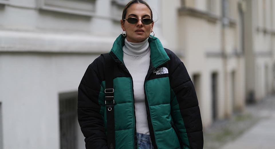 The North Face's 1996 Retro Nuptse Jacket has been recognised as the most popular item for men and women by Lyst. (The North Face)