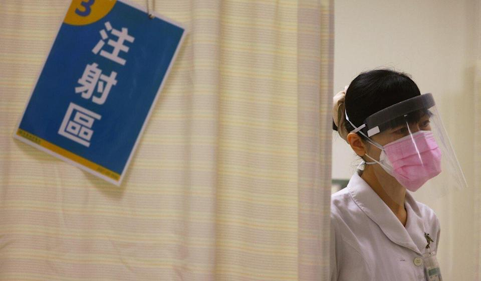 Taiwanese politicians have called on the government to accept the mainland's offer of BioNTech vaccines. Photo: Reuters