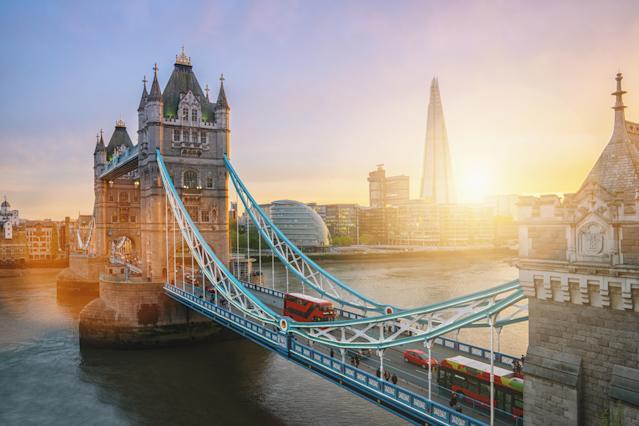 The Tower Bridge in London. Photo: Getty