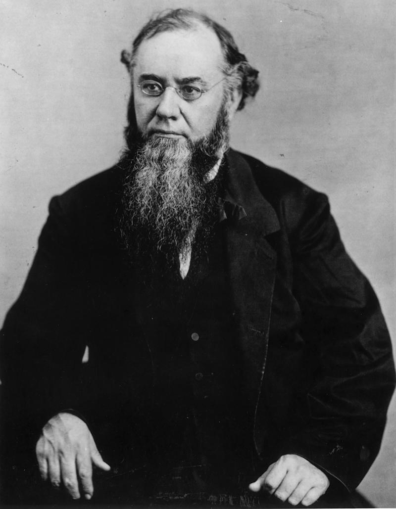 Edwin McMasters Stanton, secretary of war under Lincoln, led the attempt to convict Lincoln's successor, Andrew Johnson.