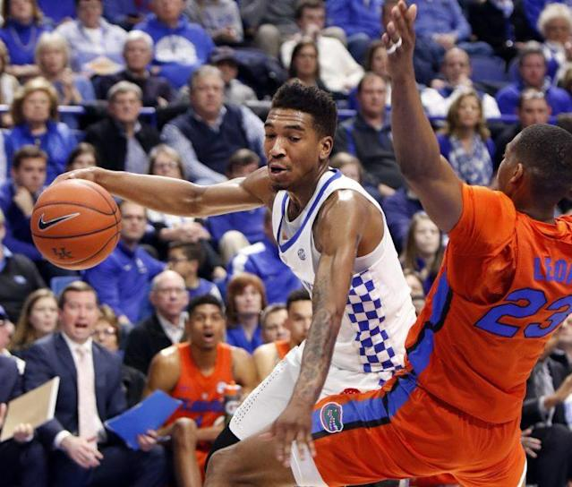 Malik Monk scored 30 second-half points to break the deadlock at the top of the SEC. (AP)