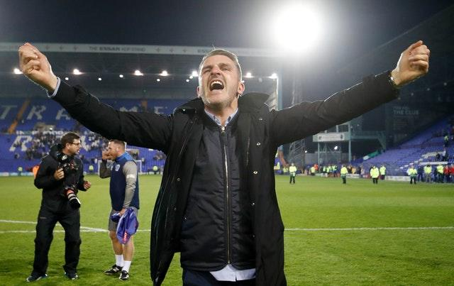 Bury were promoted under Ryan Lowe last season (Martin Rickett/PA)
